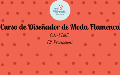 Diseñador de moda flamenca (Online) 2ª Promoción