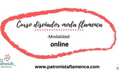 Diseñador de moda flamenca (Online)
