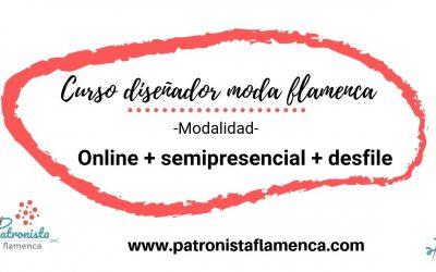 Diseñador de moda flamenca (Semipresencial+Desfile)