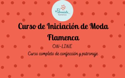 Moda Flamenca iniciación ANUAL