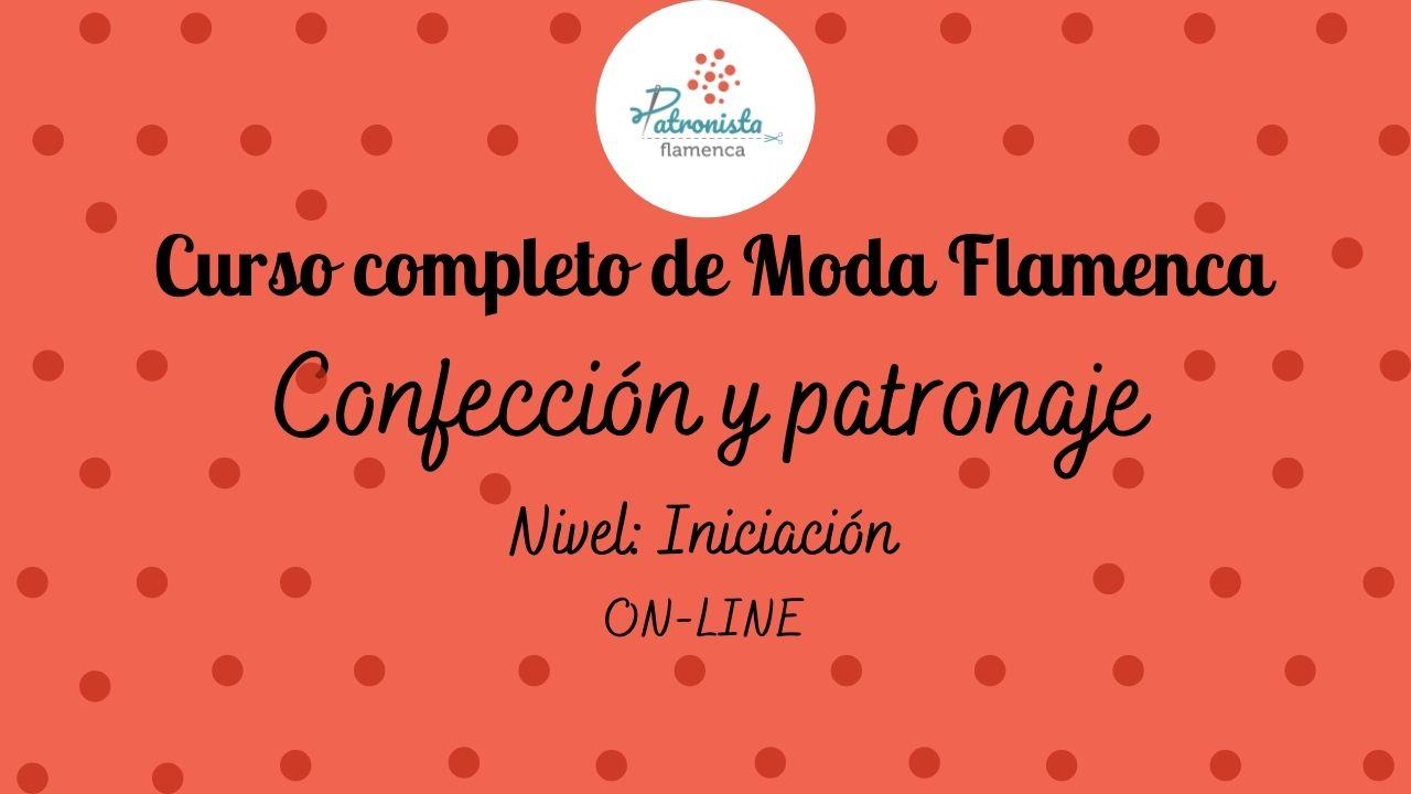 Curso anual de moda flamenca