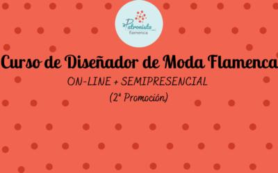 Curso de Diseñador de Moda Flamenca semipresencial