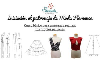 Iniciación al patronaje de moda flamenca