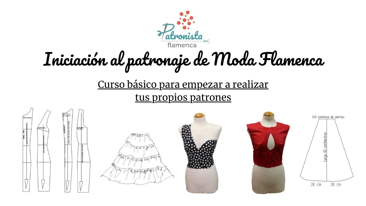 Iniciación al patronaje de flamenca