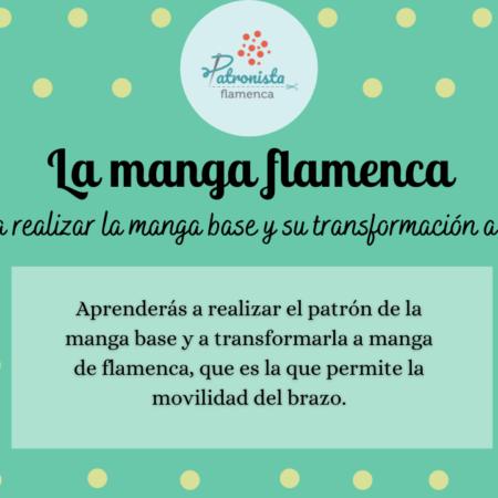 La manga de flamenca