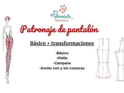 El Pantalón, patronaje