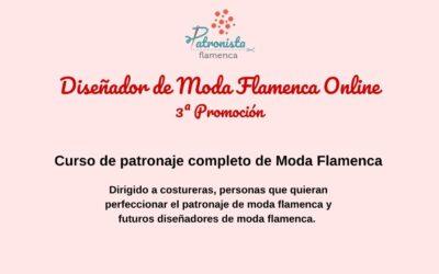 Diseñador de moda flamenca Online 3ª Promoción